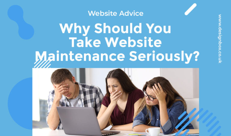 Why Should You Take Website Maintenance Seriously?