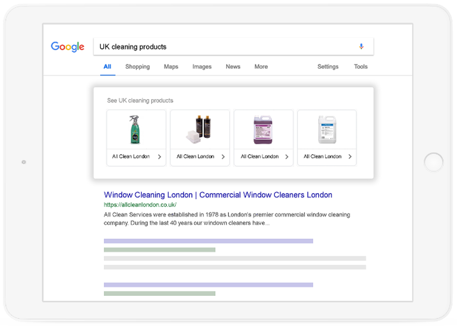 google shopping ad management agency